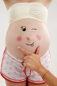 Pregnant lady — Stock Photo