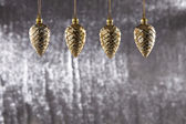 A group of Christmas Pine Cone — Stock Photo