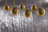 A group of Christmas ball — Stock Photo