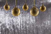 A group of Christmas ball — Stock Photo