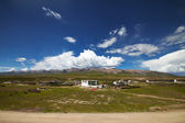 Tibetan rural village — Stock Photo