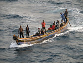 Fishermen from Ghana — Stock Photo