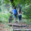 Children in forest — Stock Photo #23705131