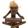 African tribal art figurine — Stock Photo