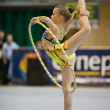 Gymnastics open tournament — Foto Stock