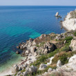 Rocky cliffs, the Black Sea coast — Stock Photo #24068397