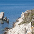 Rocky cliffs, the Black Sea coast — Stock Photo #24068417