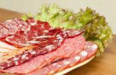 Deli meats — Stock Photo