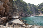 Cala Futadera beach — Stock Photo