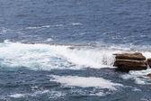 Fale oceanu — Zdjęcie stockowe