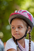 Little biker — Stock Photo