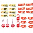 Set sale tags. — Stock Vector #32611249