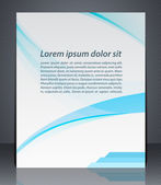 Vector layout business brochures, magazine cover, or corporate design template advertisment — Stock Vector