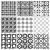 Seamless pattern, repeating geometric squares. — ストックベクタ