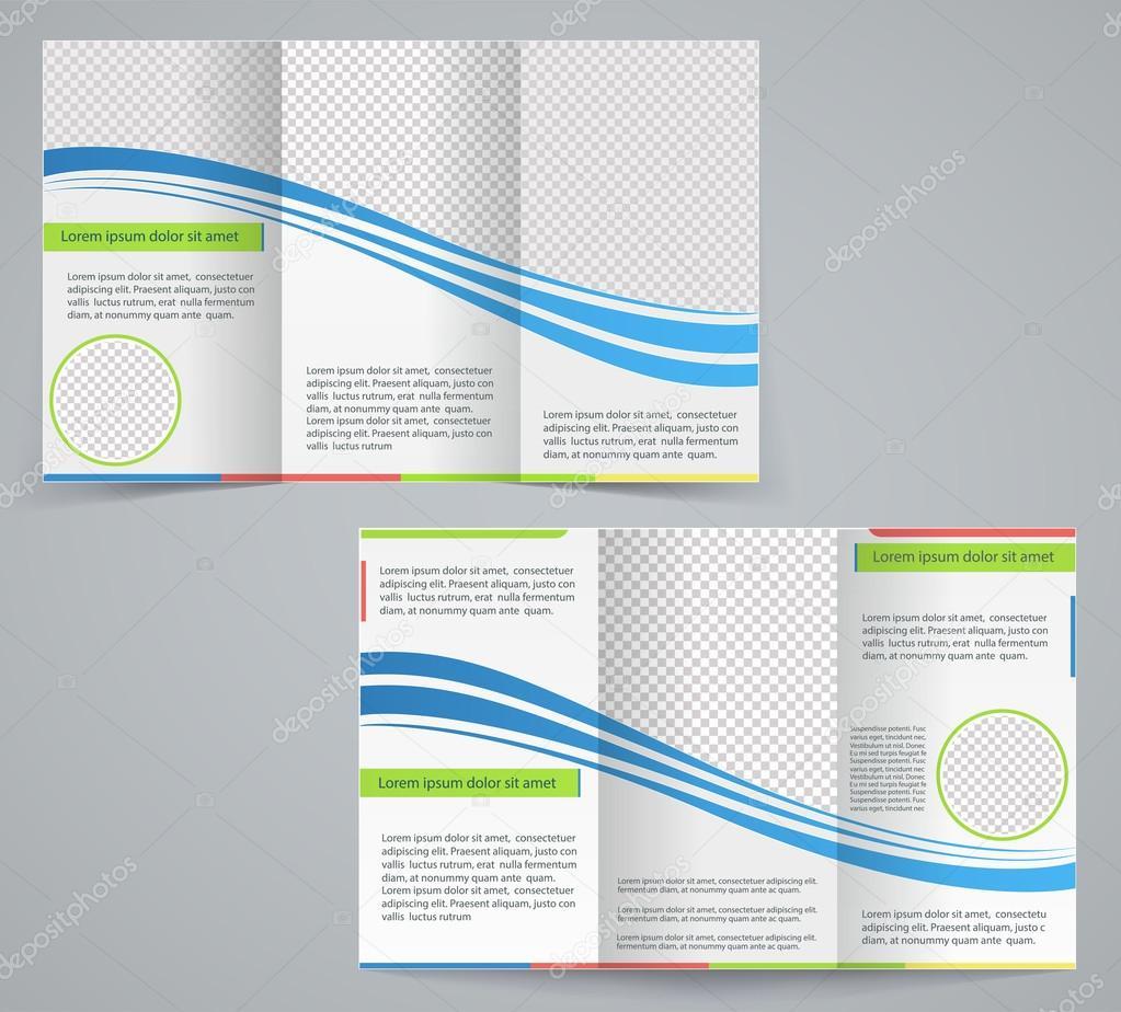 3 Fold Template Vosvetenet – 3 Fold Flyer Template