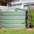 Large eco- friendly water storage tank — Stock Photo #23721231