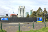 City-parkplatz — Stockfoto