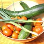 Fresh garden vegetables — Stock Photo #26149265