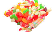 Colourful candy jellies — Stock Photo