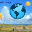 climate change — Stock Photo