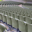 Seating at a public outdoor music stadium — Stock Photo