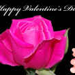 Foto Stock: Happy valentines card