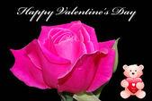 Happy valentines card — Stock Photo