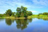 Piękne jezioro w australii wiktoria — Zdjęcie stockowe