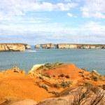 Twelve apostles seascape Australia — Stock Photo