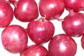 Red spanish onions — Stock Photo