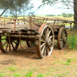 Old horse drawn wagon  — Stock Photo