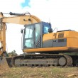 Yellow excavator — Stock Photo #39667275