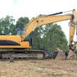 Yellow excavator — Stock Photo #39667291