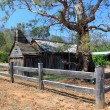 Historical Australian settlers wooden school house — Stock Photo #43015627
