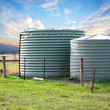 Eco friendly fresh water tanks — Stock Photo #47807237