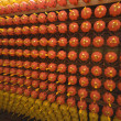 Stock Photo: Hundreds of lanterns