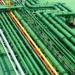 Petrochemical pipes — Stock Photo