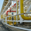Petrochemical pipes — Stockfoto