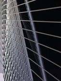 Putrajaya bridge pattern — Stock Photo