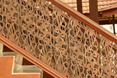 Engraved stairs — Stock Photo