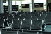 Airport waiting hall — Stock Photo