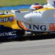 Stock Photo: ING Renault F1 Team R27 - Heikki Kovalainen