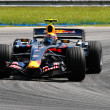 Постер, плакат: Red Bull Racing RB3 Mark Webber
