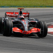Постер, плакат: Vodafone McLaren Mercedes MP4 22 Fernando Alonso
