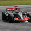Vodafone McLaren Mercedes MP4-22 - Fernando Alonso — 图库照片