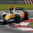 Stock Photo: ING Renault F1 Team R27 - Giancarlo Fisichella