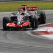 Vodafone McLaren Mercedes MP4-22 - Fernando Alonso — Stock Photo