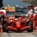 Scuderia Ferrari Marlboro F2007 - Kimi Raikkonen — Stock Photo