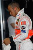 Vodafone McLaren Mercedes MP4-22 - Lewis Hamilton — Stockfoto