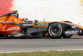 Etihad Aldar Spyker F1 Team F8-VII - Christijan Albers — Foto de Stock